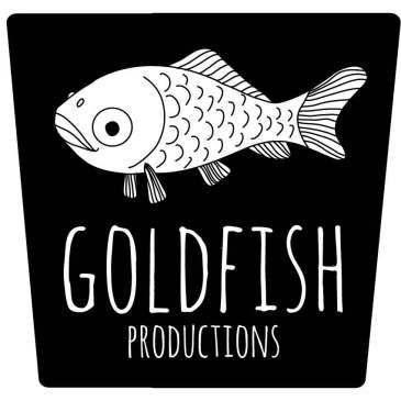 Logo for Goldfish Productions, 2013