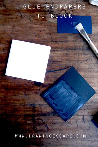 glue-endpaper