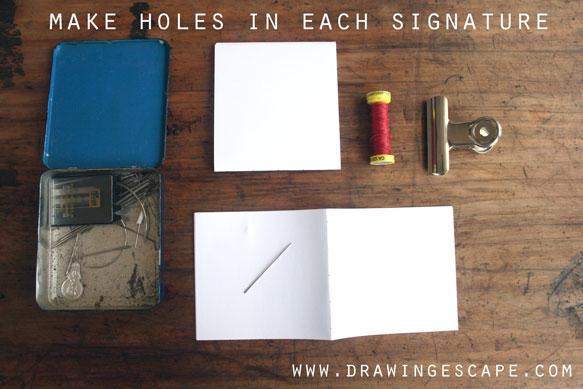 make-holes